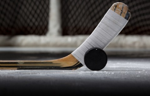 Hockey Stick - Puck - Goal
