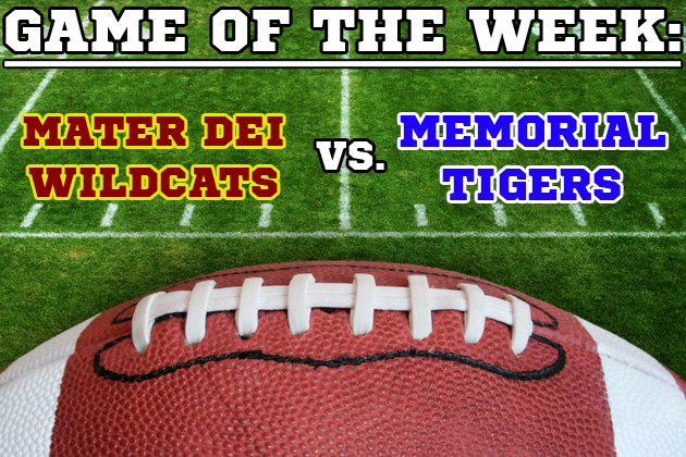 High School Football Game of the Week Preview - Mater Dei vs. Memorial